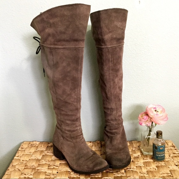 37fc50b8c8a Born Gallinara over the knee leather boots